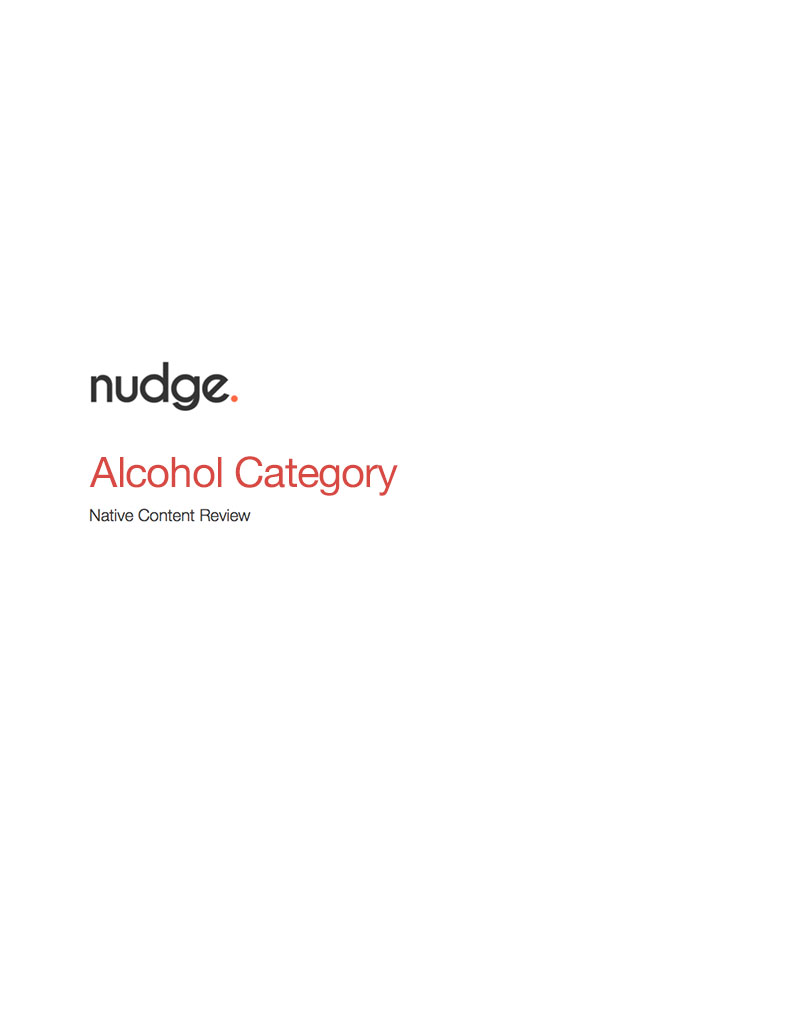 Alcohol Research Report