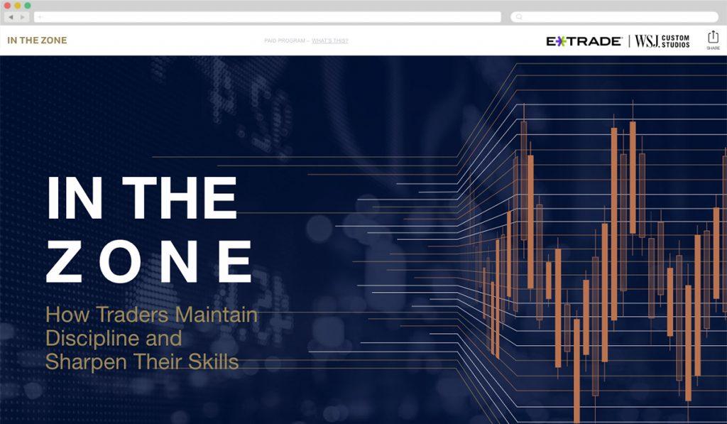 E*Trade + WSJ [Best Finance] - Best Native Ads 2017
