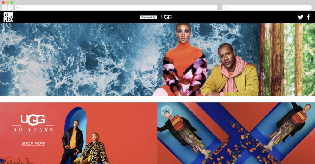 ugg partners with complex