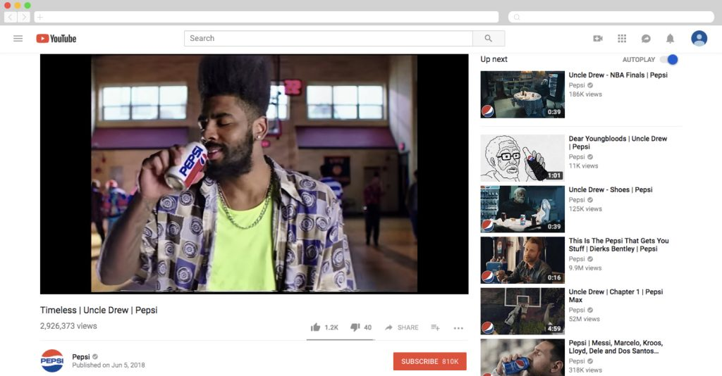 A Pepsi-funded movie based on a soda commercial character