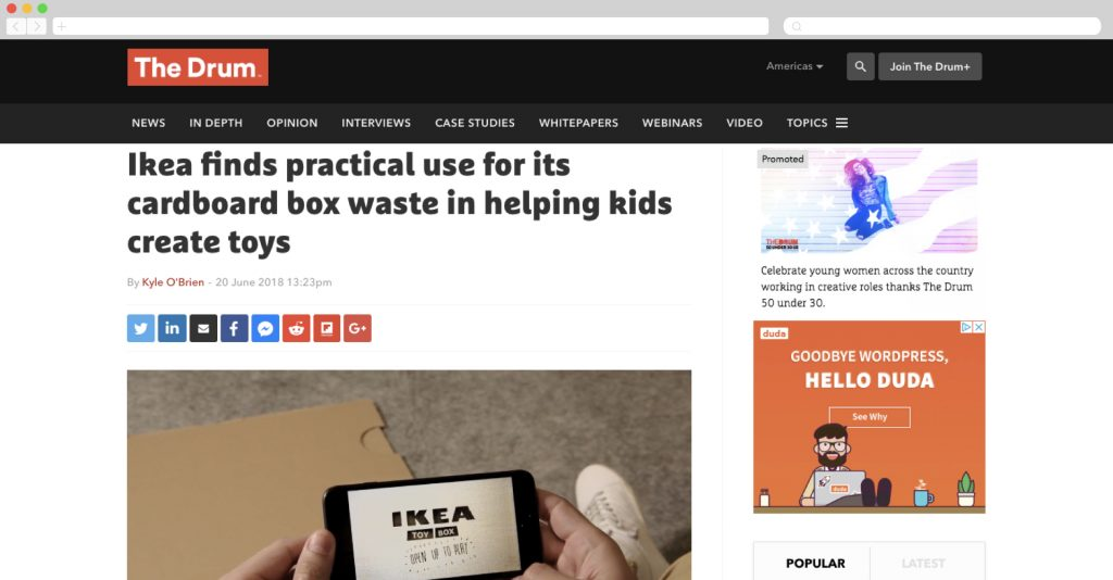 ikea's toy box app