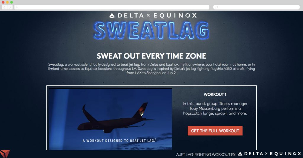 Sweatlag: Sweat Out every Time Zone