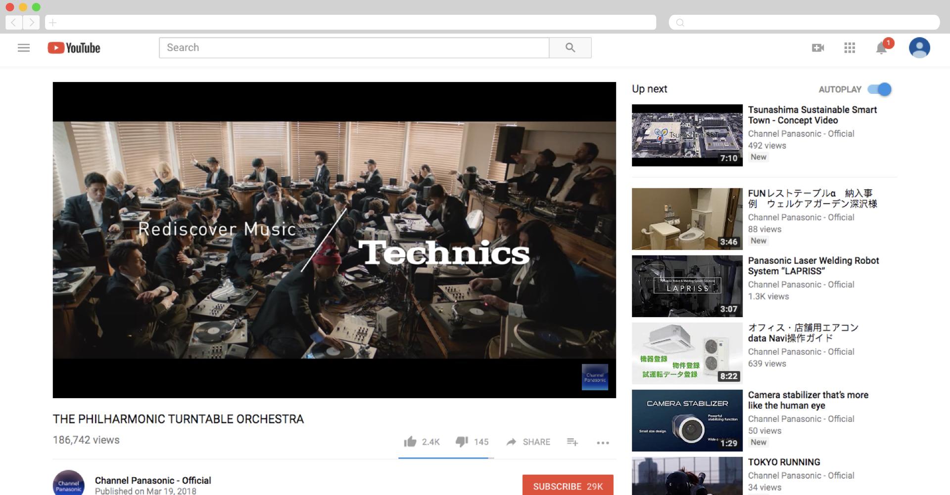 Technics - Philharmonic Turntable Orchestra