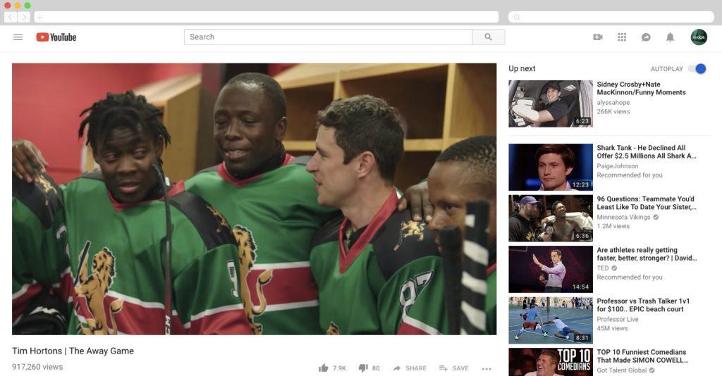 Tim Horton's brings Kenya's National Hockey Team to Canada