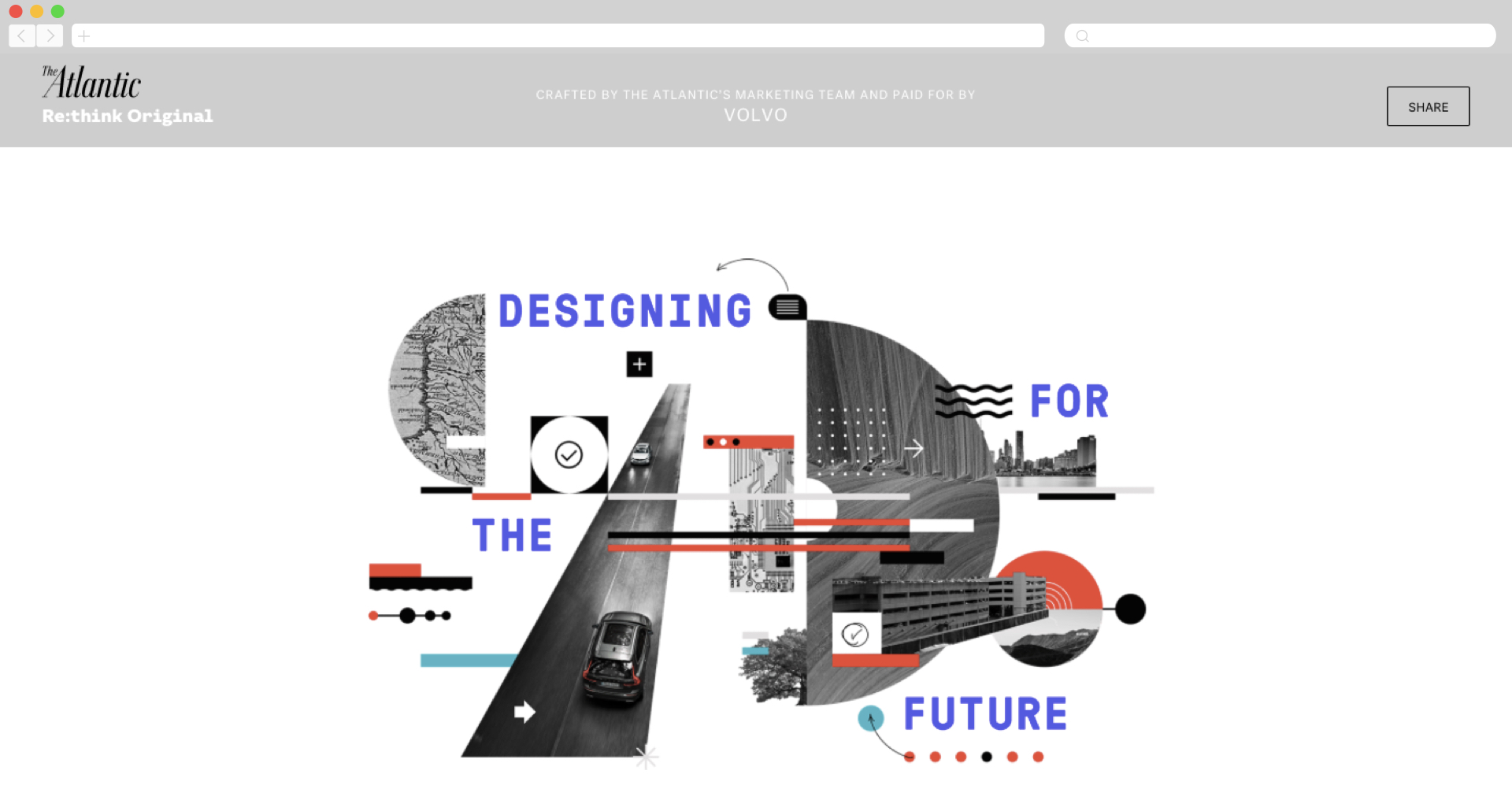 Volvo + Atlantic's Re:Think About The Future of Design