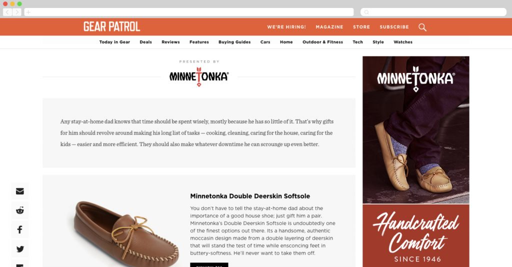 Minnetonka best father's day gifts