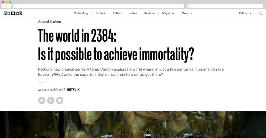 Netflix series altered carbon
