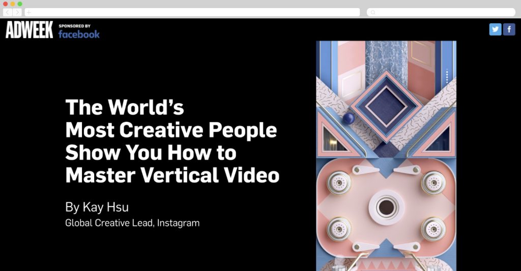 Instagram showcases How to Master Vertical Video