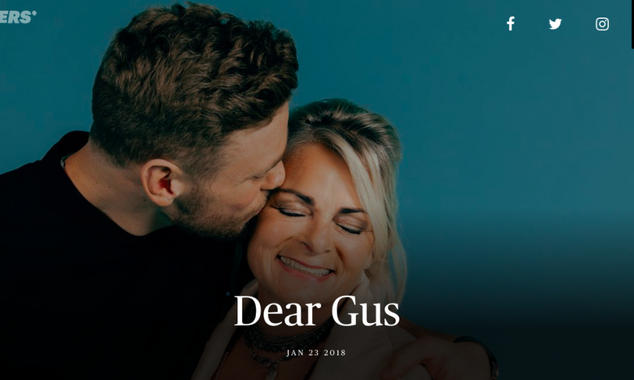 Dear Gus, Campaign by Procter & Gamble and The Players' Tribune