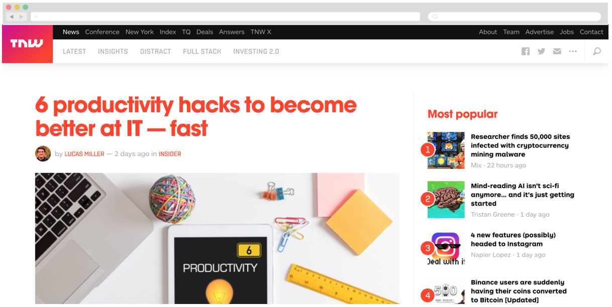 Netgear + The Next Web: 6 productivity hacks to become better at IT — fast