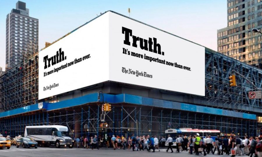 the New York Times is convincing commercial partners to pay for its journalism.