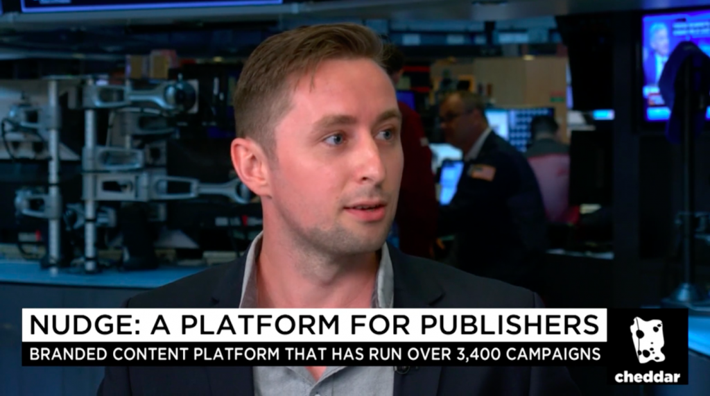 Ben Young, CEO of Nudge on Cheddar Live