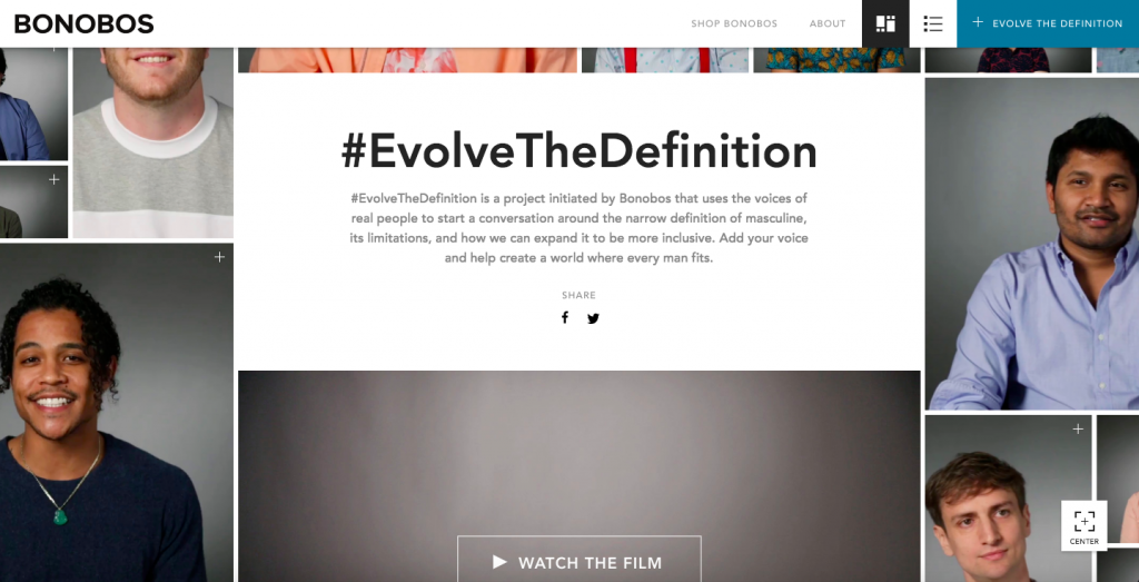 Campaign of the week, Bonobos