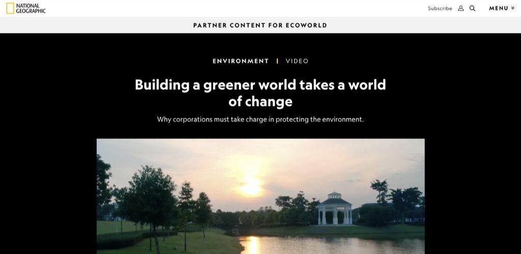 Nat Geo + Ecoworld