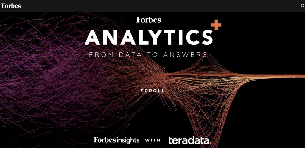 Teradata: from data to answers