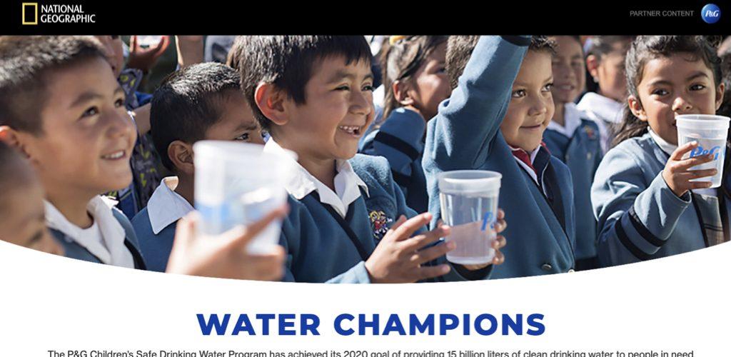 P&G's Water Champions
