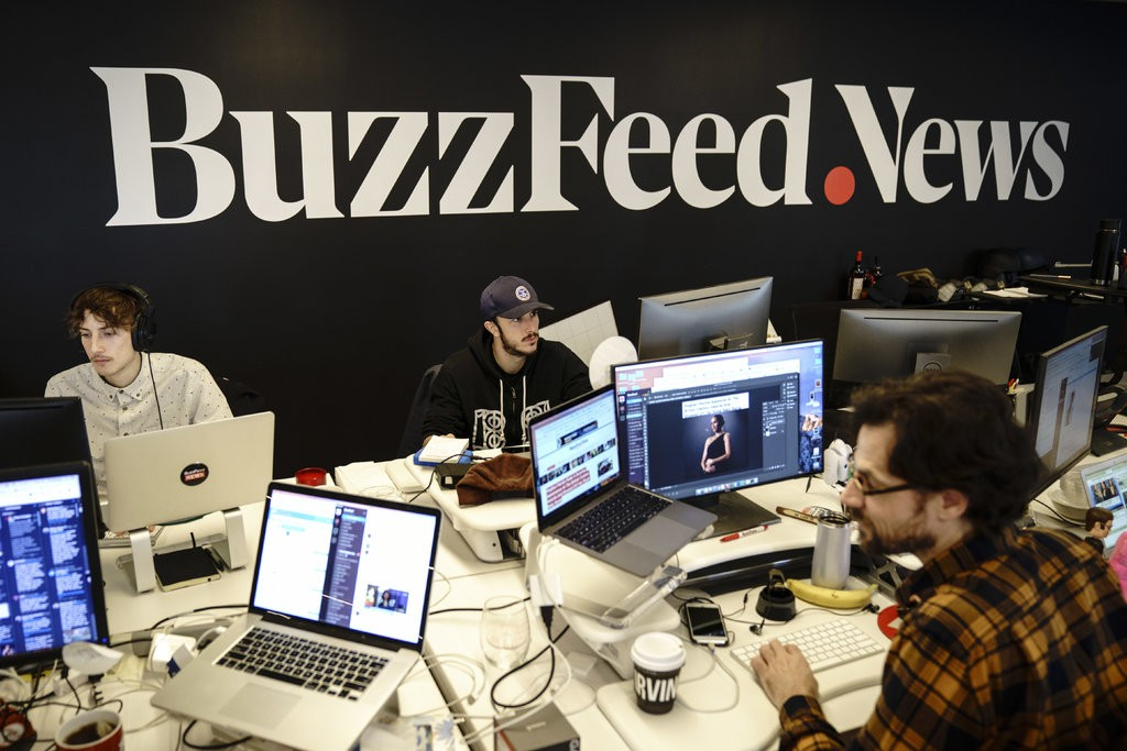 buzzfeed plans to lay off 15% of staff