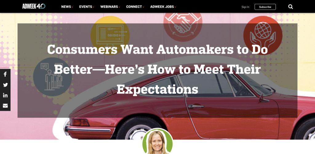 Deloitte via Adweek explores customer experience