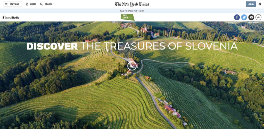 tourism slovenia on the new york times