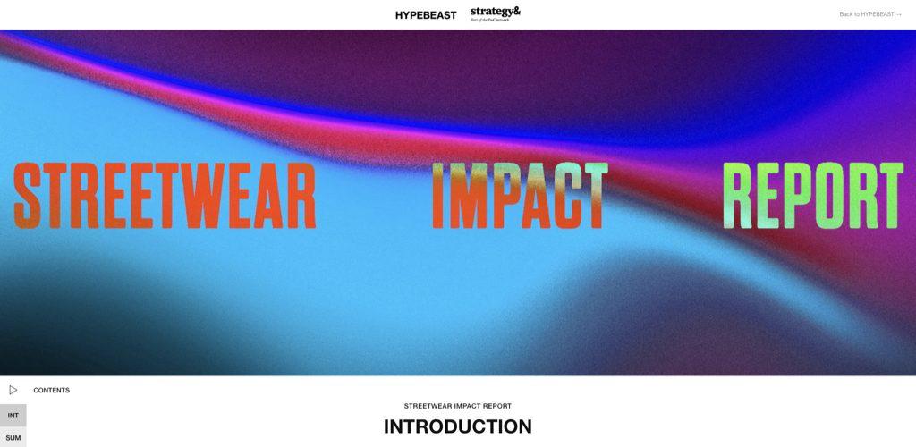 hypebeast x pwc strategy& streetwear report