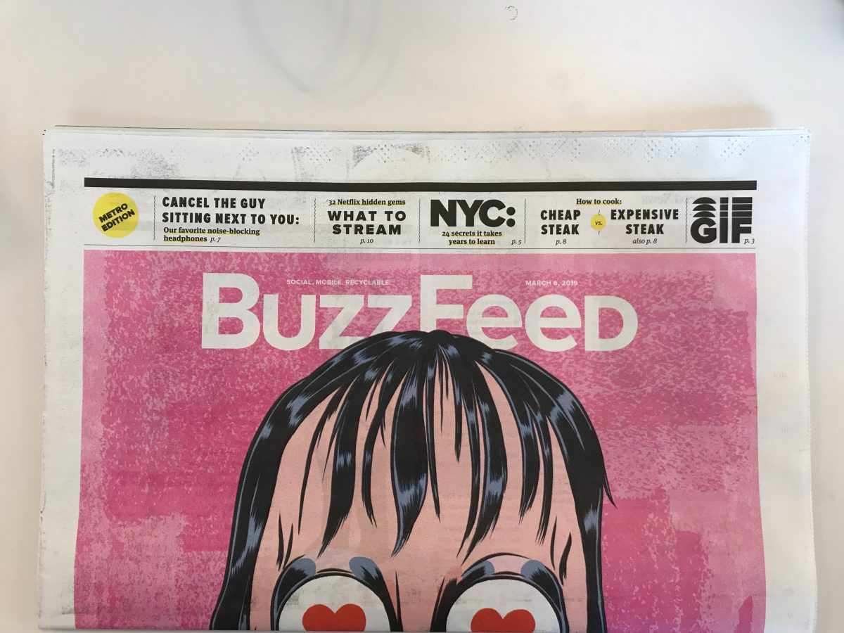 BuzzFeed's print edition