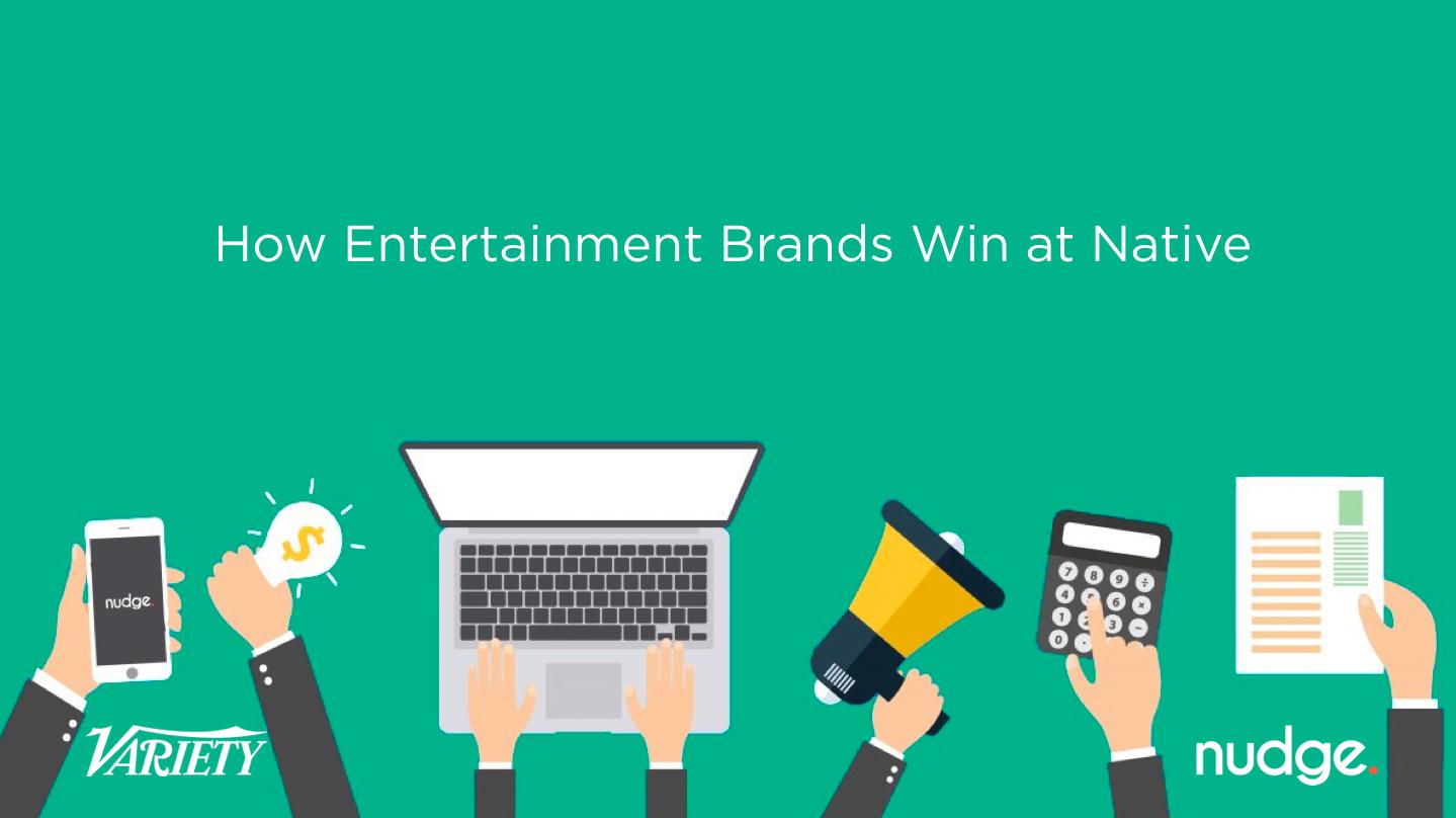 Nudge & Variety's Entertainment Webinar