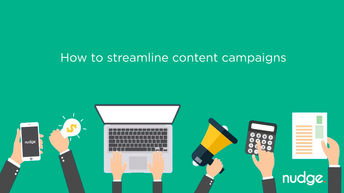 Webinar: How to streamline content campaigns