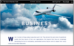 NetJets on WSJ