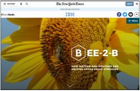IBM on NYT
