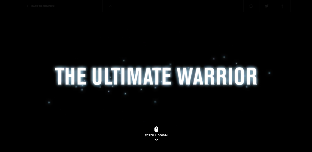 Complex Media + Under Armour, The Ultimate Warrior