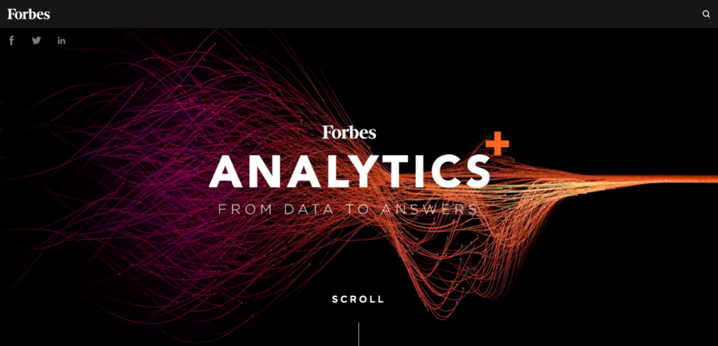 Branded Content by Teradata on Forbes