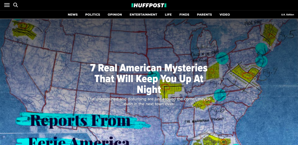 Branded content by Facebook on HuffPost