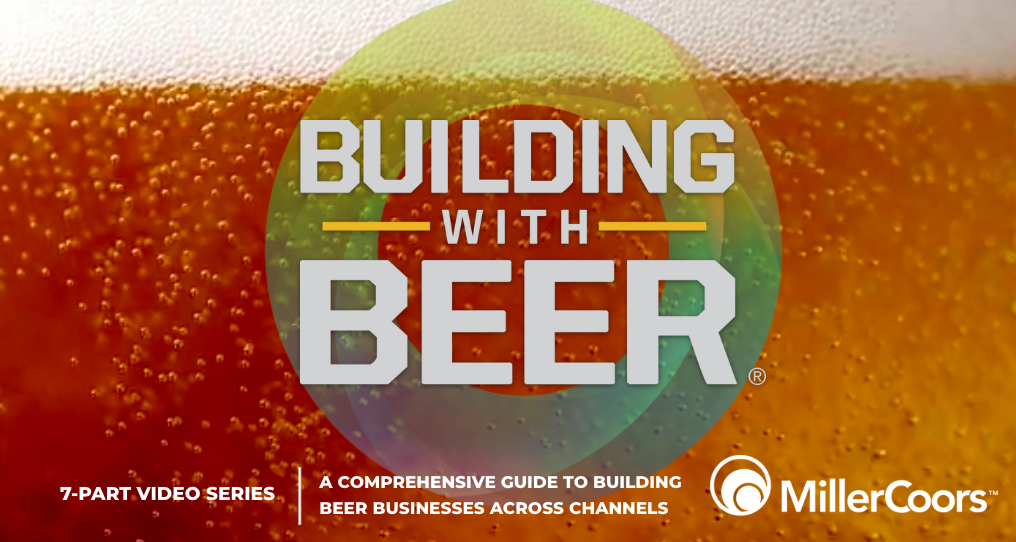 Branded content by MillerCoors on Progressive Grocer