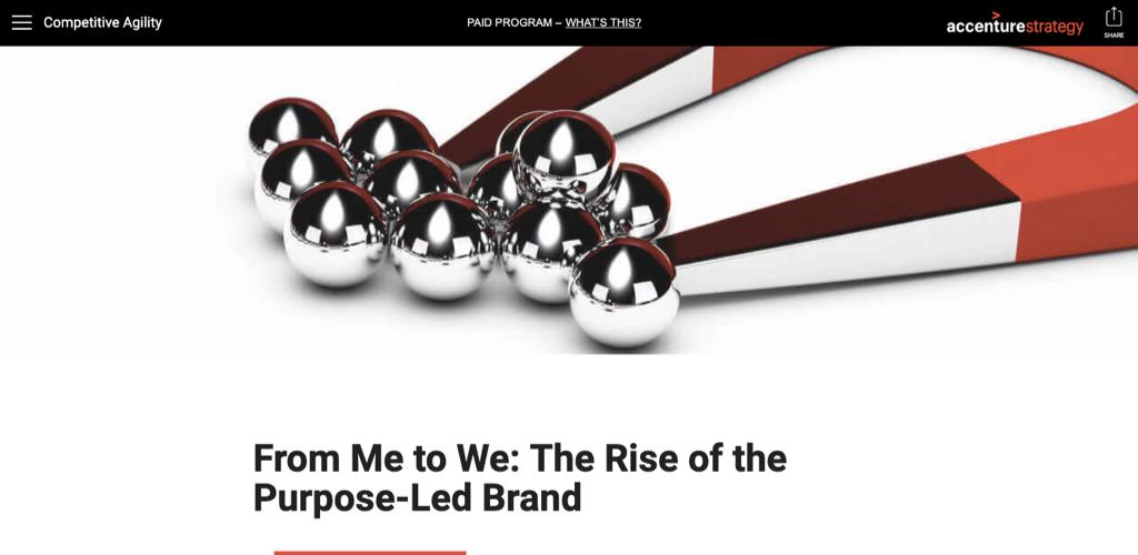 Accenture branded content