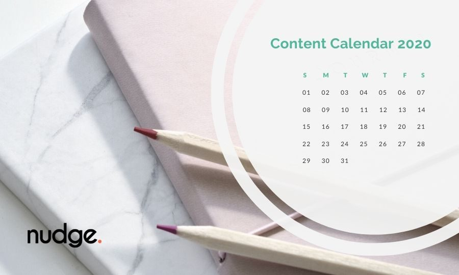 An article on how to make a content calendar