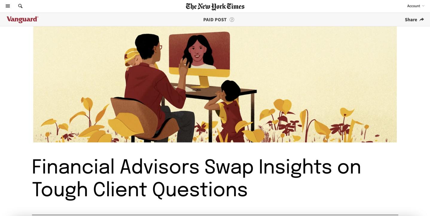 Vanguard on NYT