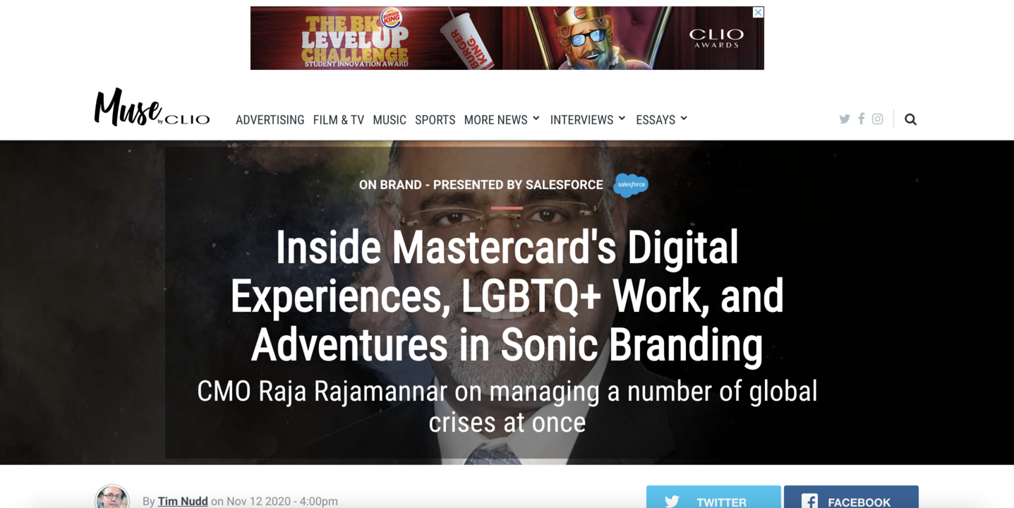 Branded content by SalesForce+ Muse by CLIO