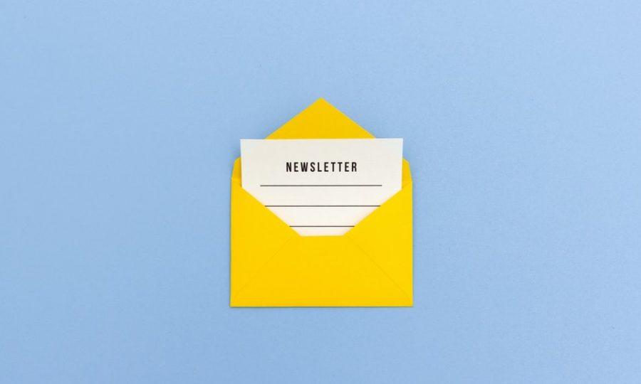 The origin of the newsletter